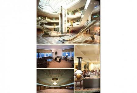 Groenplaats: Hilton en Shopping center